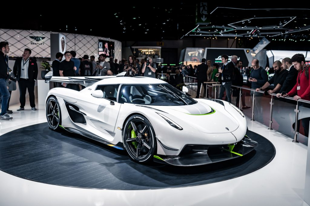 Koenigsegg Jesko Build Slot For Sale